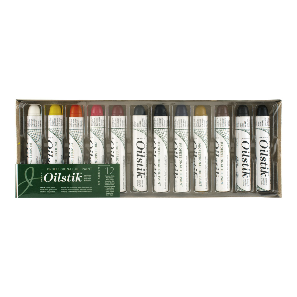 Shiva Paintstik 12 Professional Colors