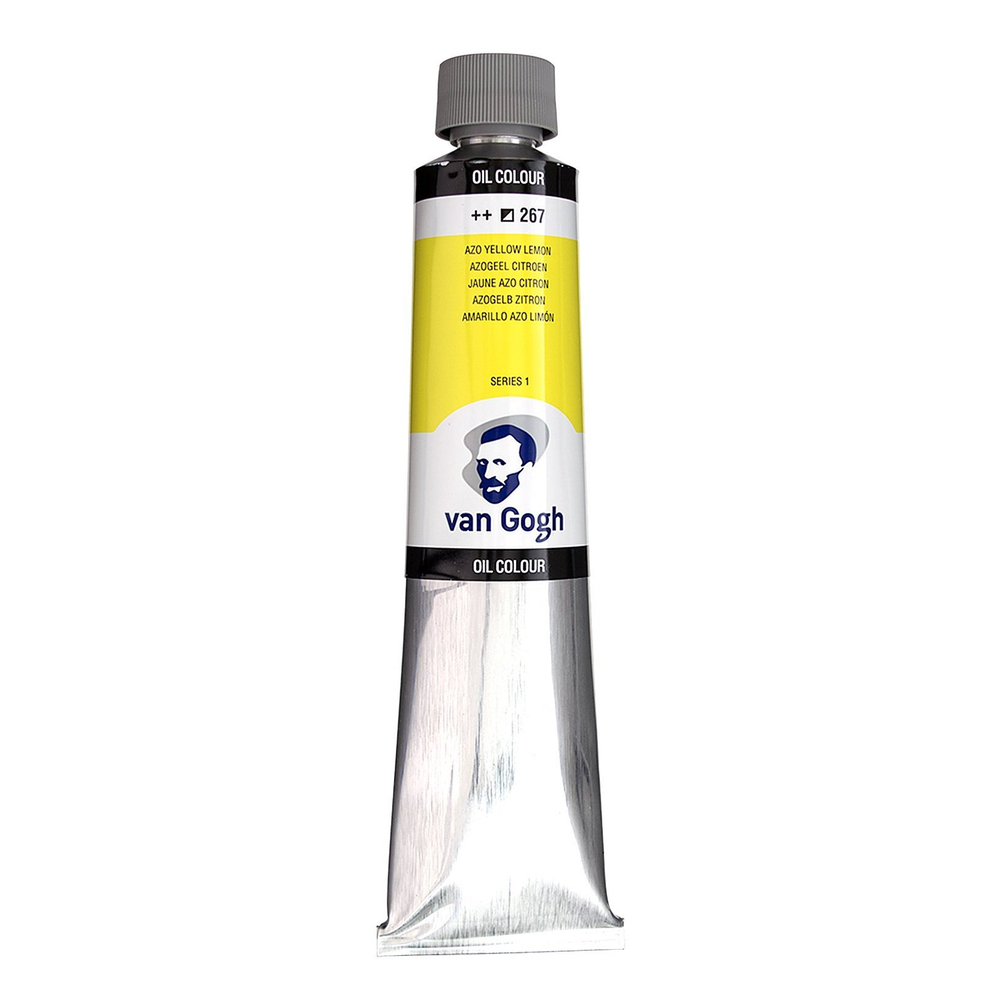 Van Gogh Oil 200Ml Azo Yellow Lemon