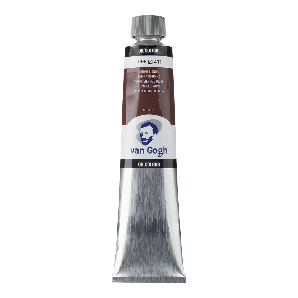 Van Gogh Oil 200Ml Burnt Sienna