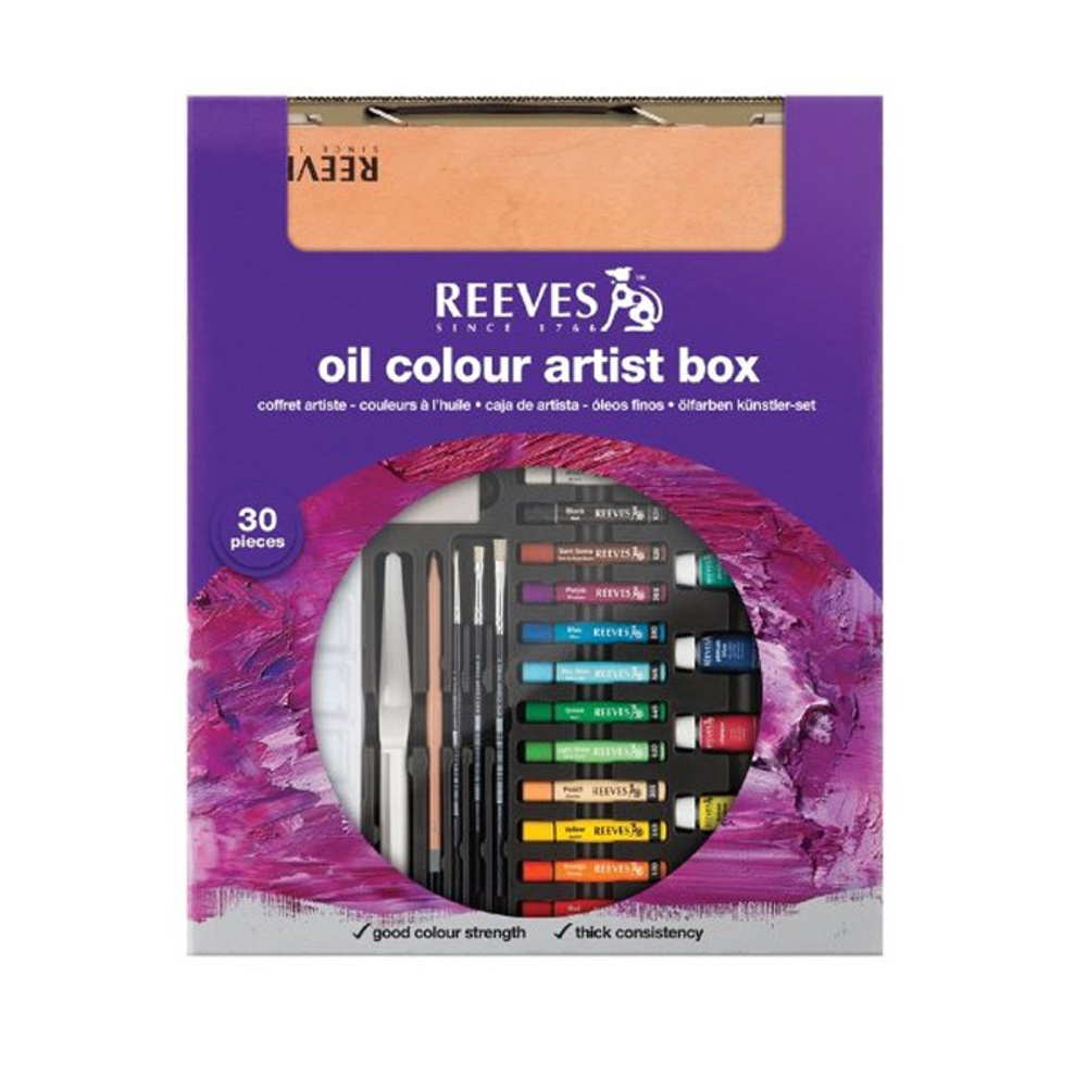 Reeves Artist Color Box Oil Color