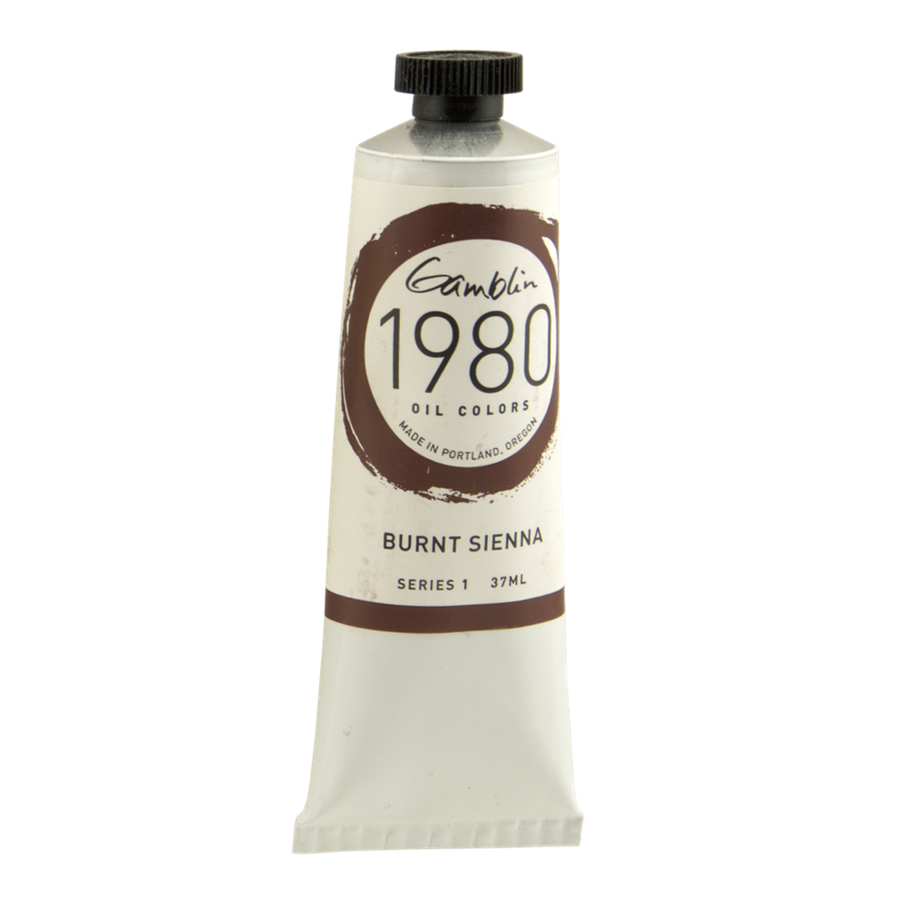 Gamblin 1980 Oil Burnt Sienna 37Ml