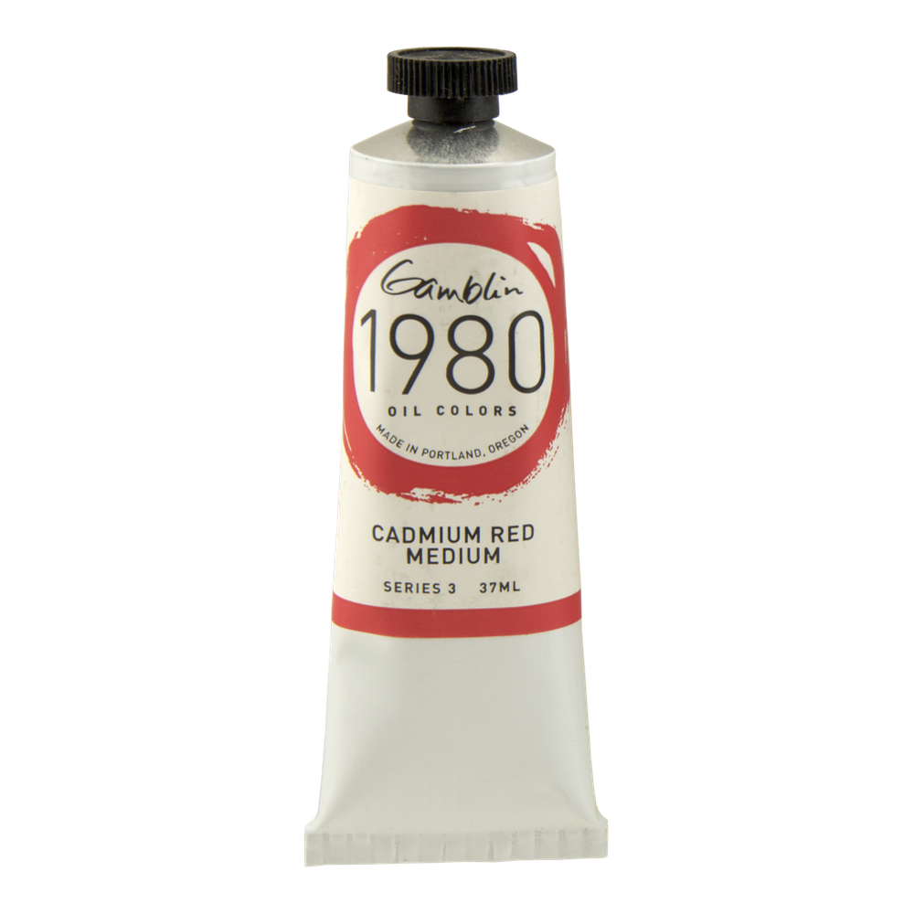 Gamblin 1980 Oil Cad Red Medium 150Ml