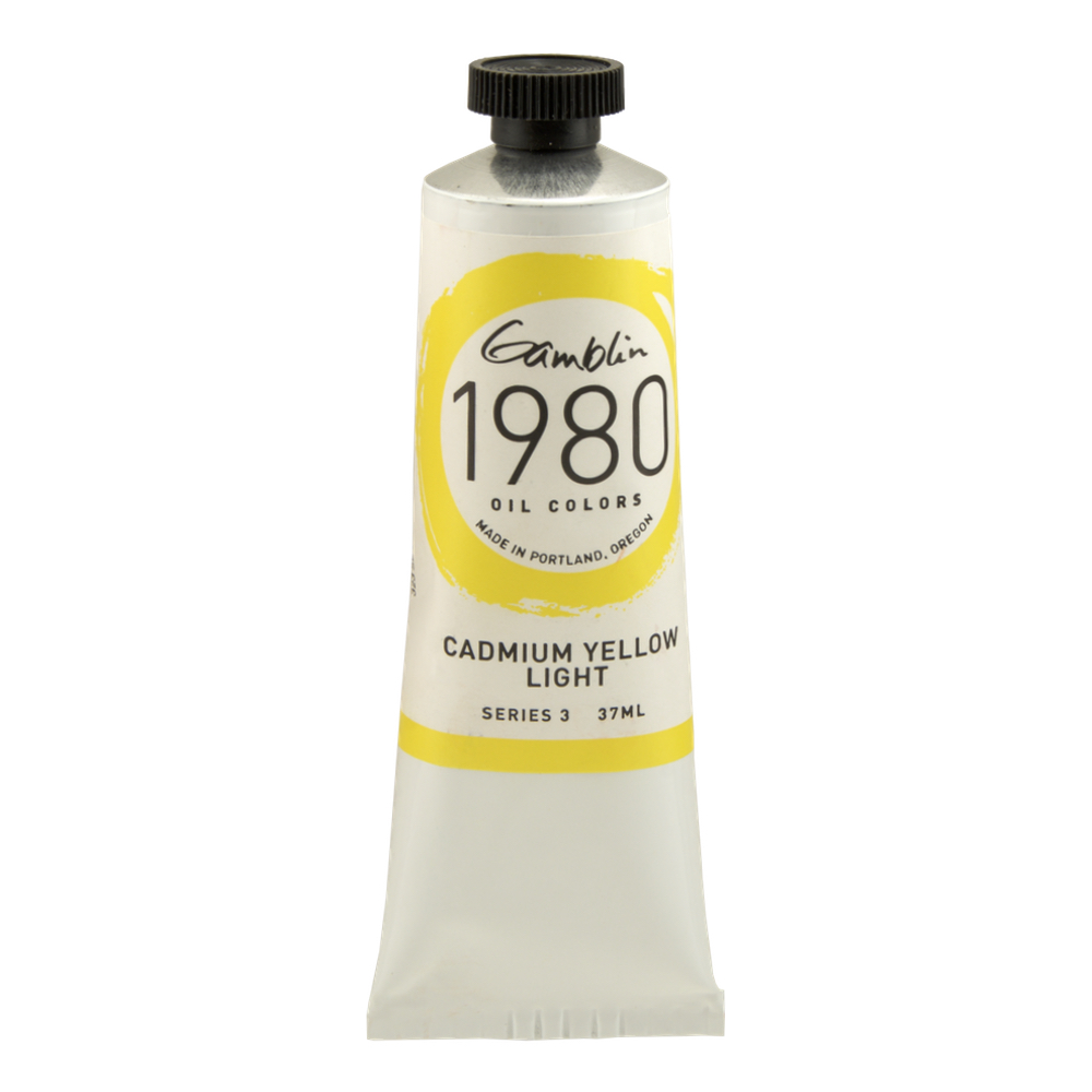 Gamblin 1980 Oil Cadmium Yellow Lt 150Ml