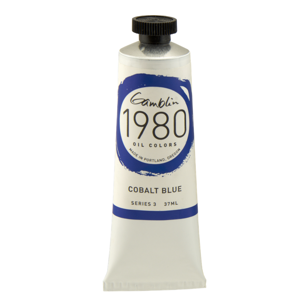 Gamblin 1980 Oil Cobalt Blue 37Ml