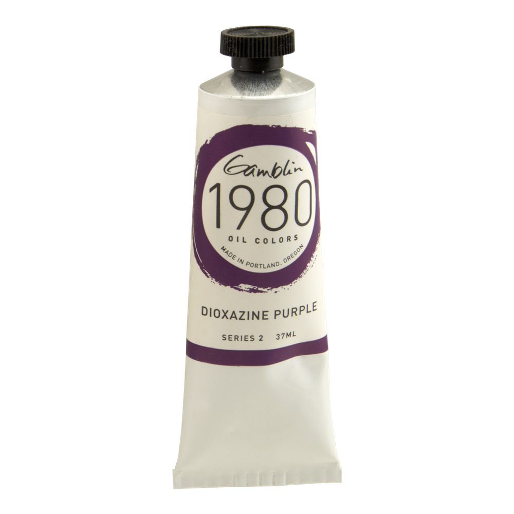 Gamblin 1980 Oil Dioxazine Purple 150Ml