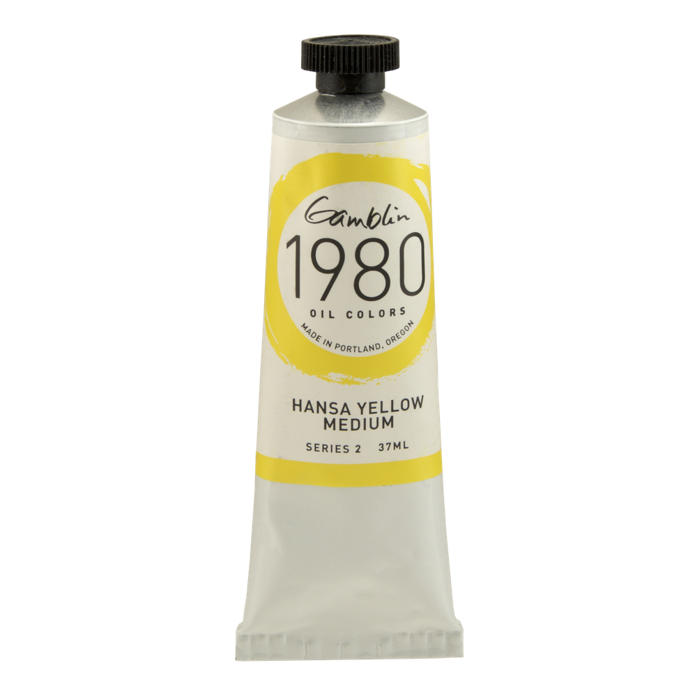 Gamblin 1980 Oil Hansa Yellow Med 37Ml