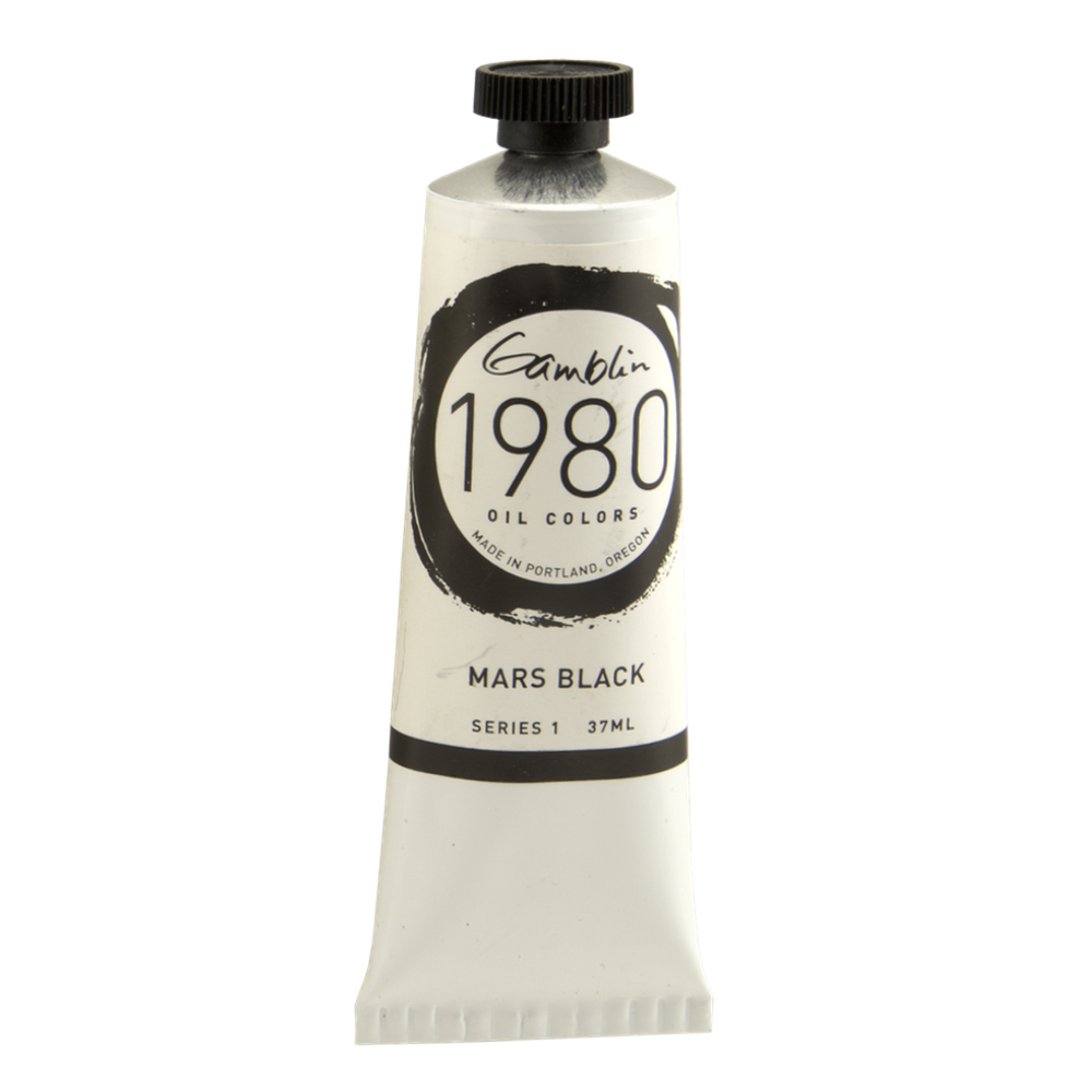 Gamblin 1980 Oil Mars Black 150Ml