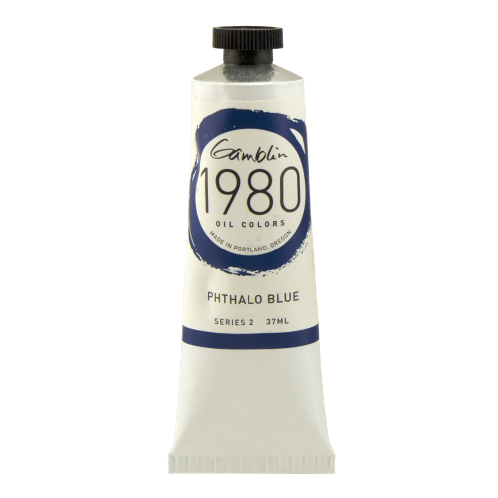 Gamblin 1980 Oil Phthalo Blue 37Ml