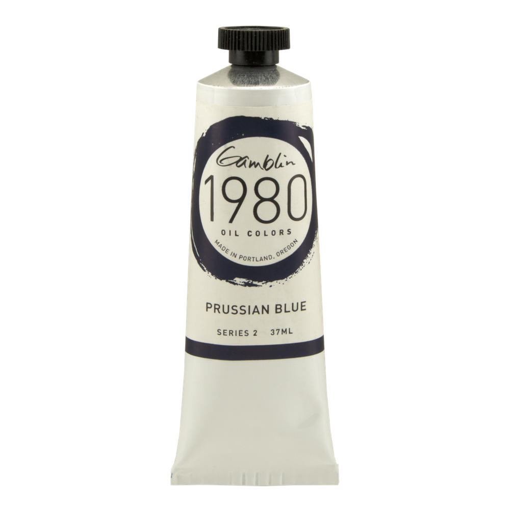 Gamblin 1980 Oil Prussian Blue 37Ml