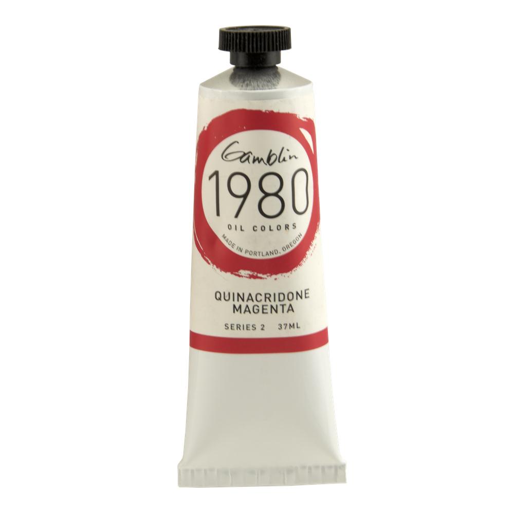 Buy Gamblin 1980 Oil Quin Magenta 37ml