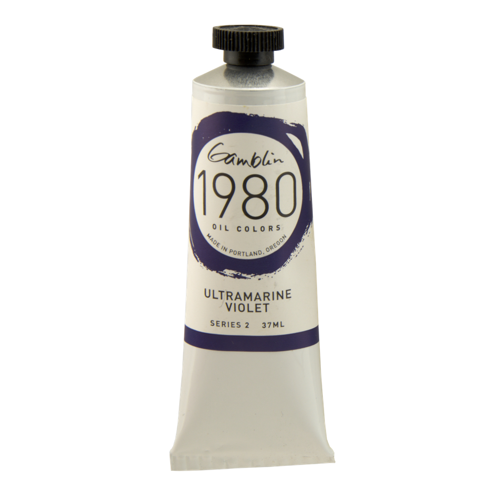 Gamblin 1980 Oil Ultramarine Violet 37Ml