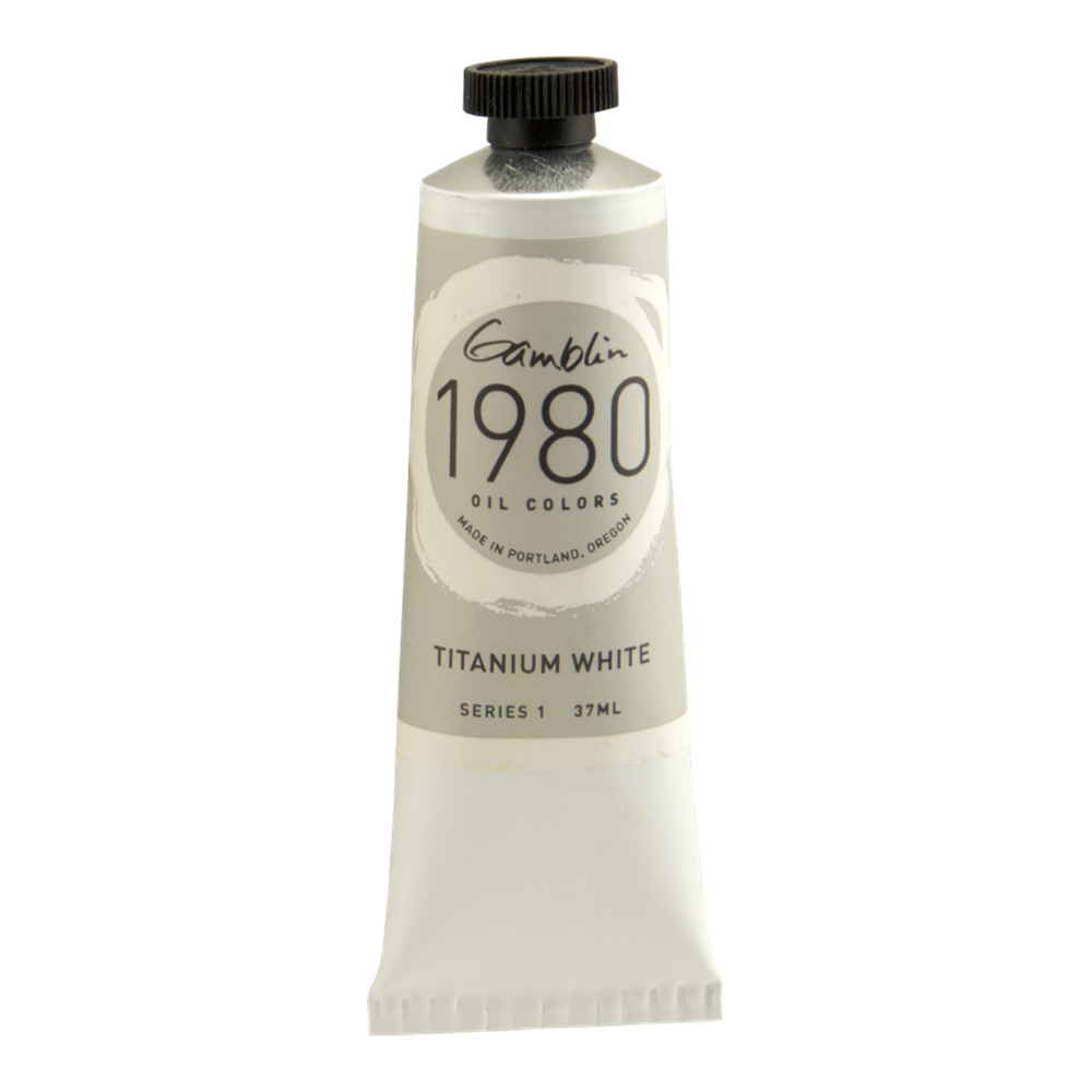 Gamblin 1980 Oil Titanium White 37Ml