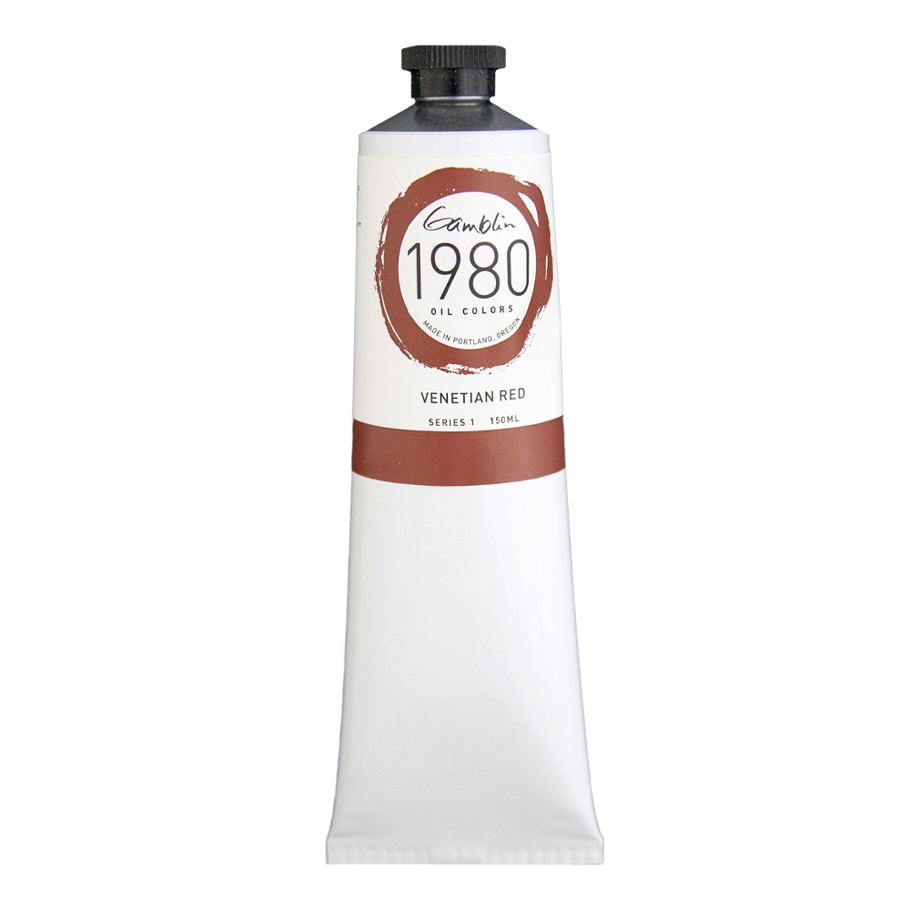 Gamblin 1980 Oil Venetian Red 150Ml