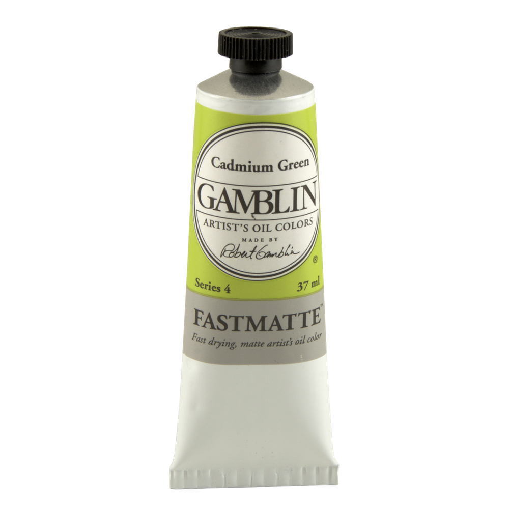 Gamblin Fastmatte Cadmium Green 150Ml
