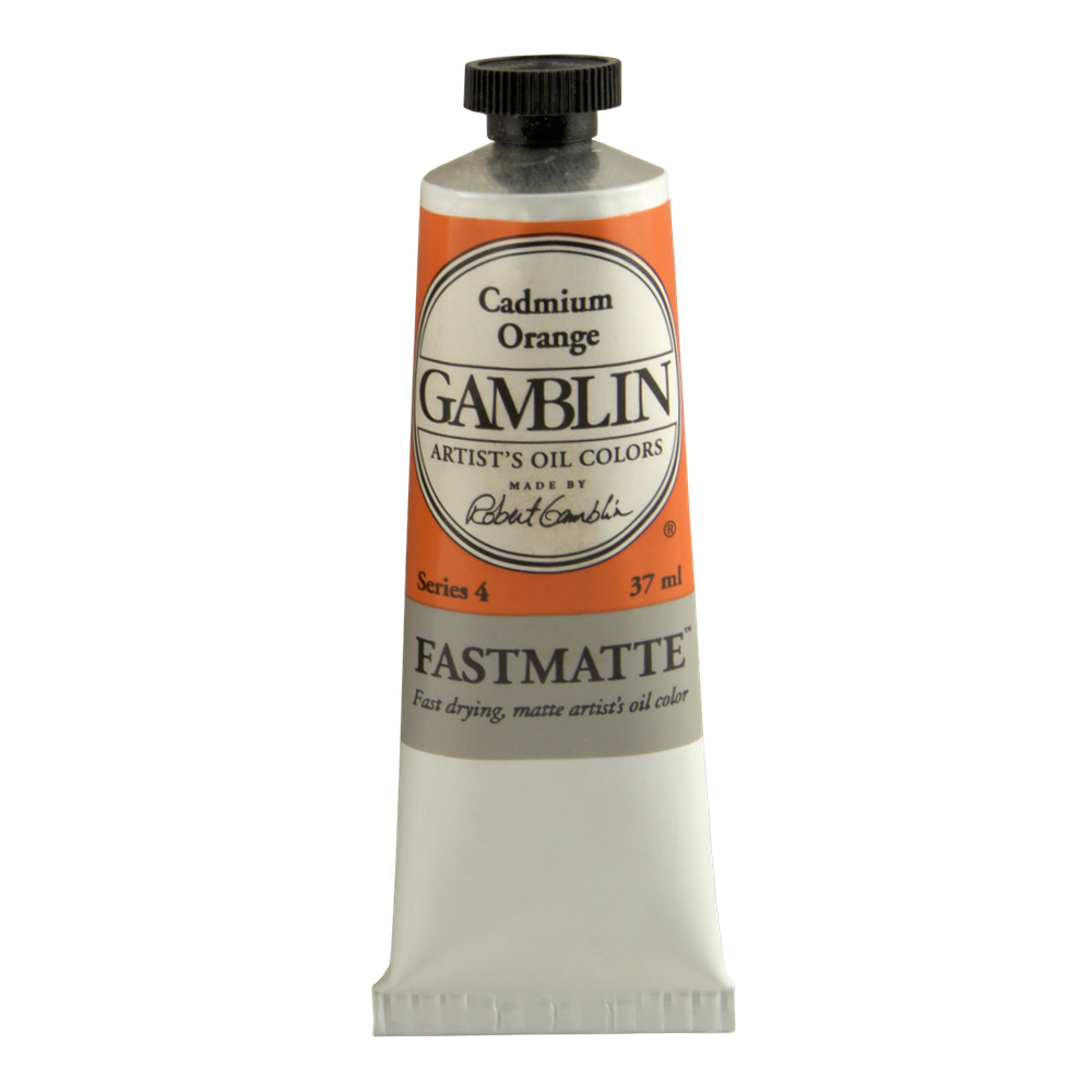 Gamblin Fastmatte Cadmium Orange 150Ml