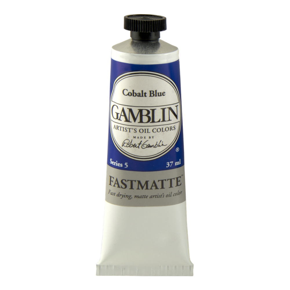 Gamblin Fastmatte Cobalt Blue 150Ml