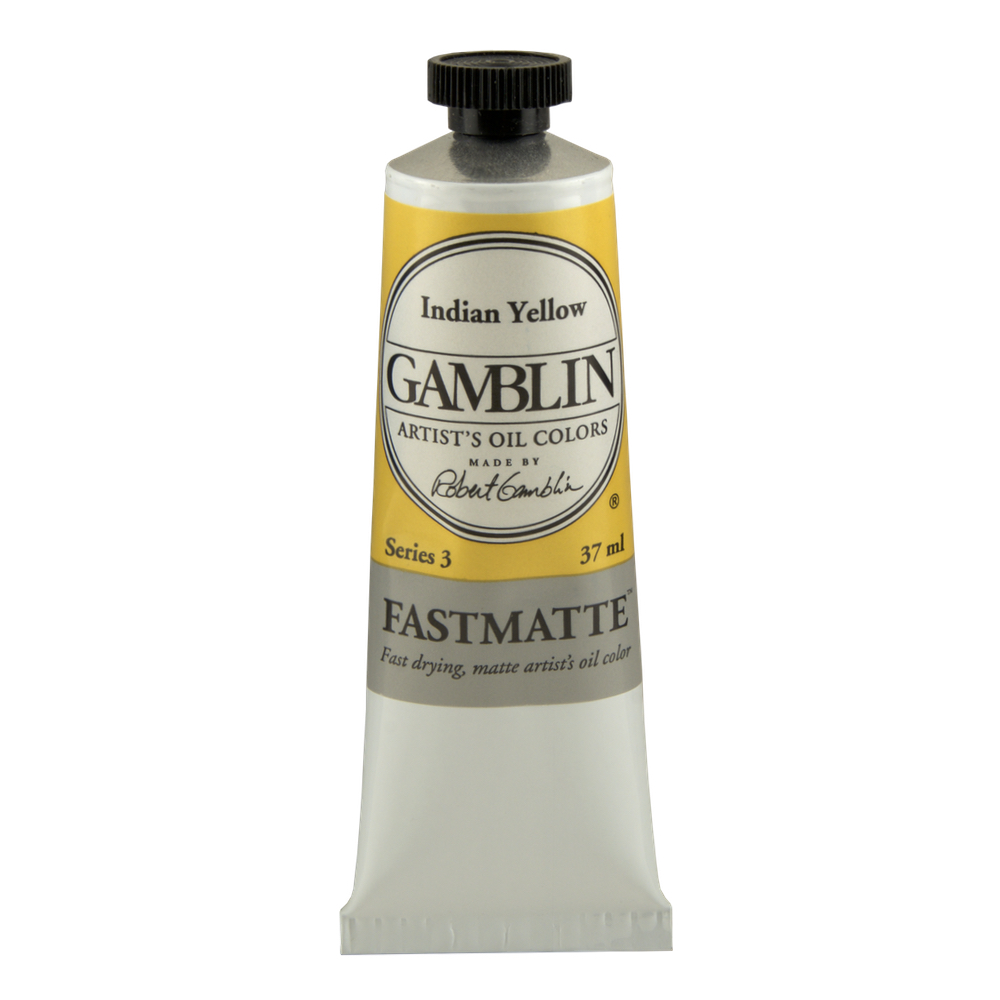 Gamblin Fastmatte Indian Yellow 150Ml