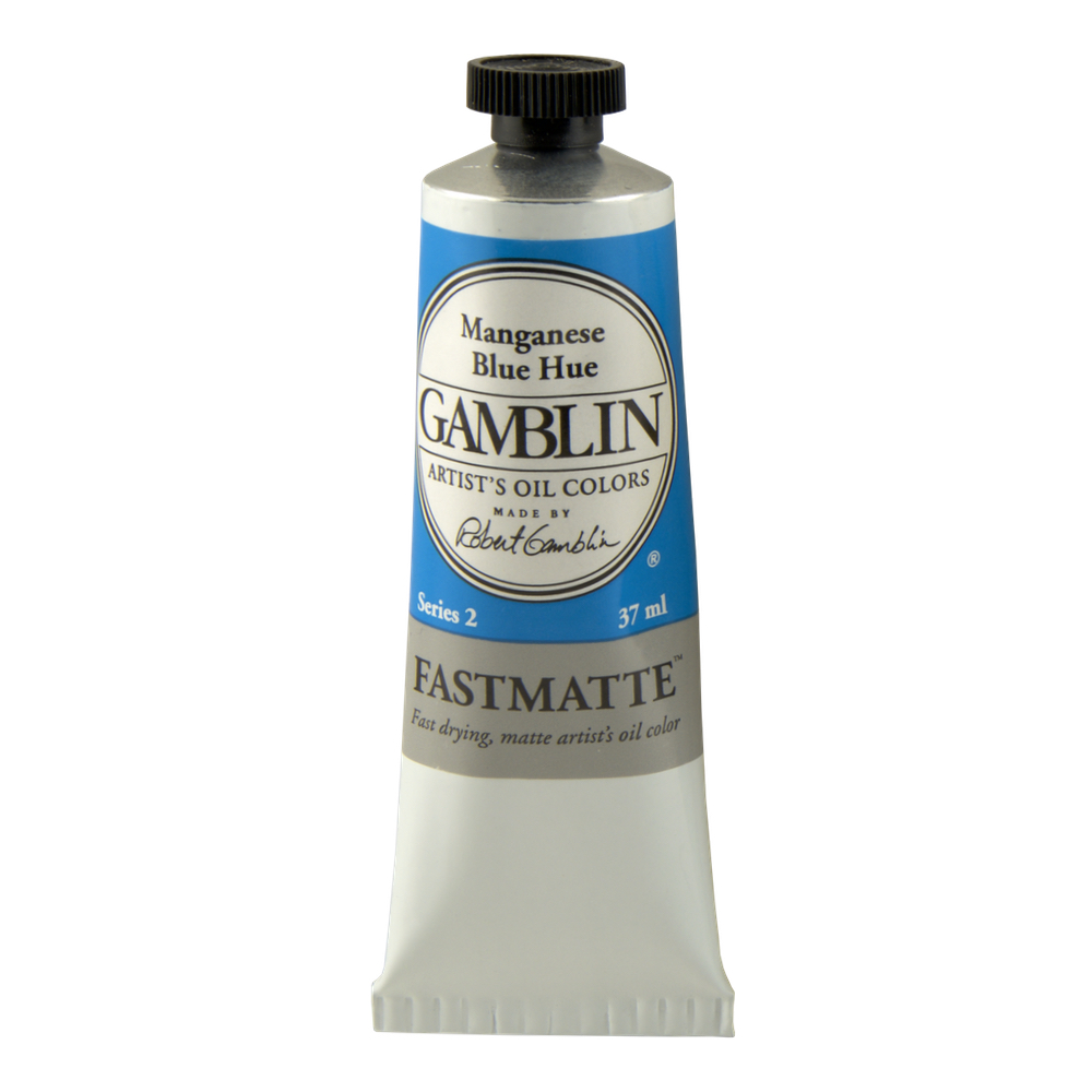 Gamblin Fastmatte Manganese Blue 37Ml