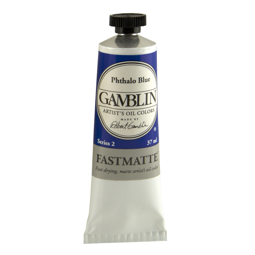 Gamblin Fastmatte Phthalo Blue 150Ml