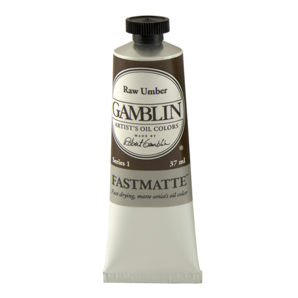 Gamblin Fastmatte Raw Umber 150Ml