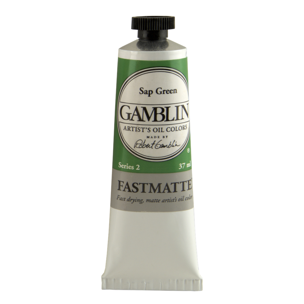 Gamblin Fastmatte Sap Green 37Ml