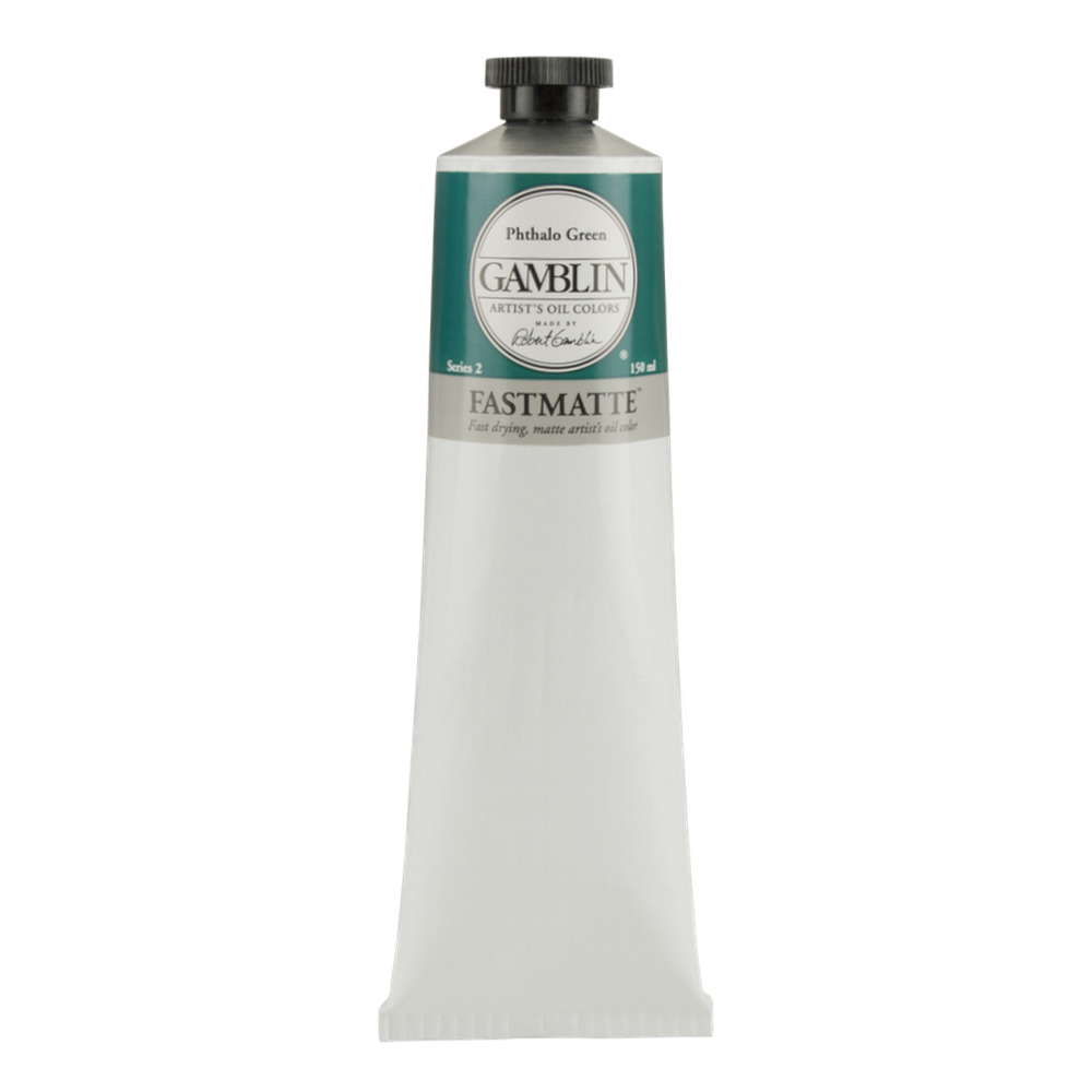 Gamblin Fastmatte Phthalo Green 150Ml