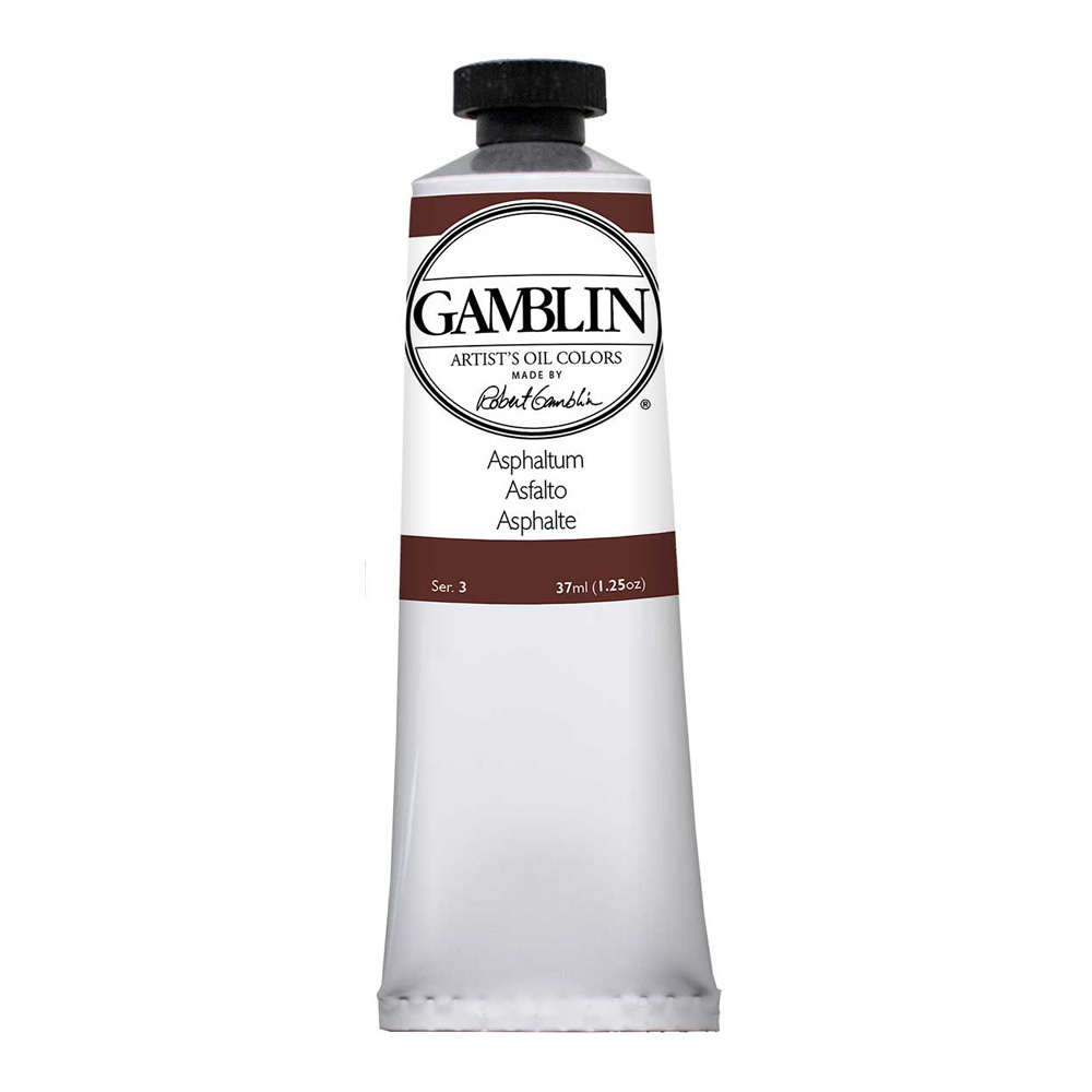 Gamblin Artist Oil 37Ml Asphaltum