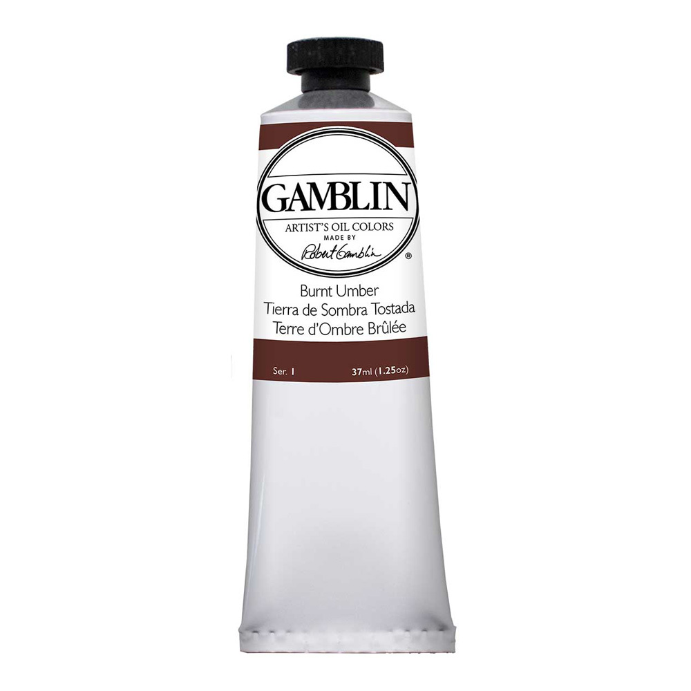 Gamblin Artist Oil 150Ml Burnt Umber