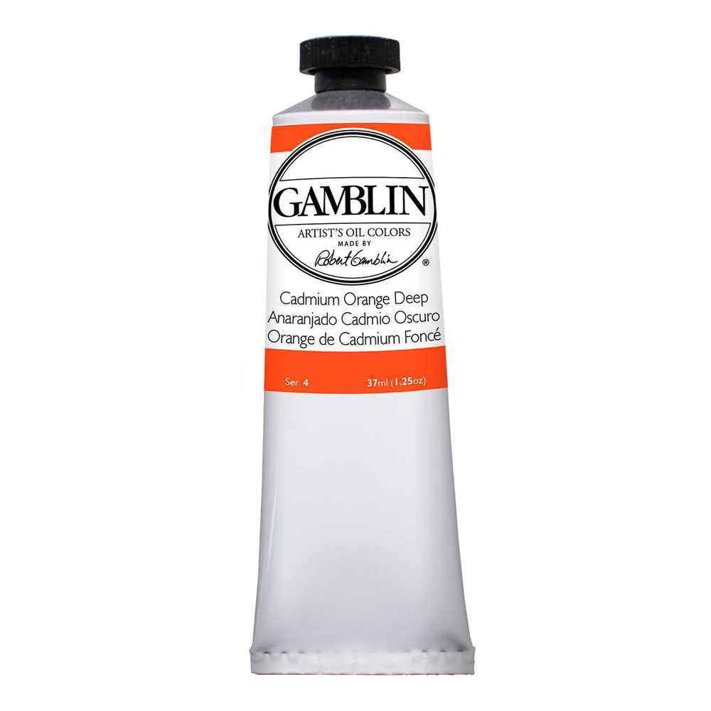 Gamblin Artist Oil 150Ml Cadmium Orange Dp