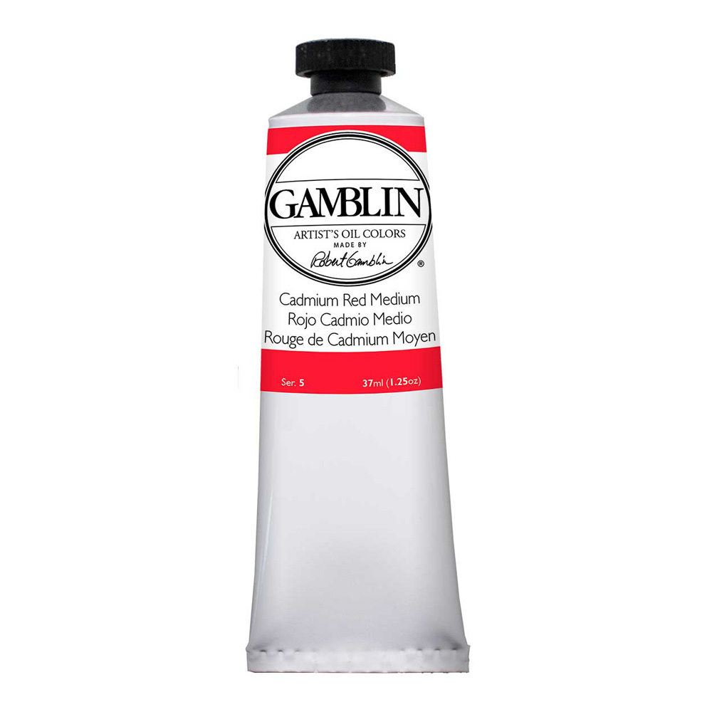 Gamblin Artist Oil 37Ml Cadmium Red Med