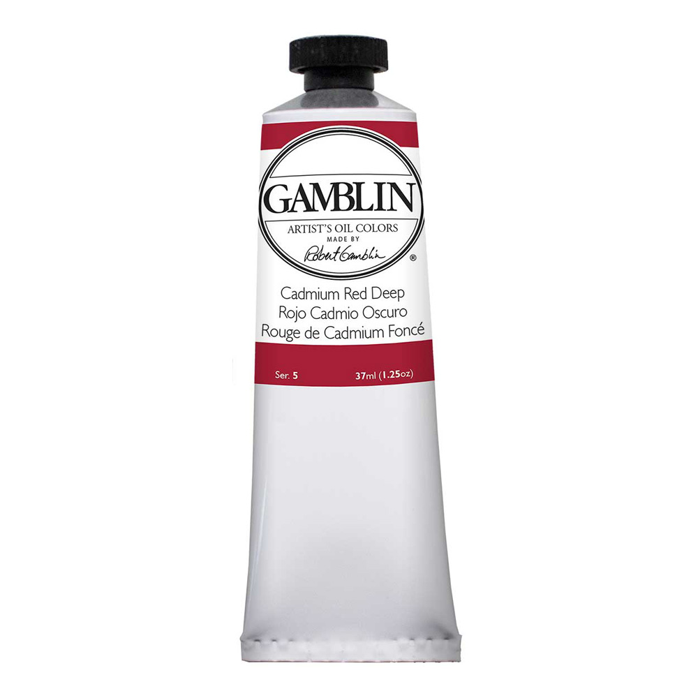 Gamblin Artist Oil 37Ml Cadmium Red Dp