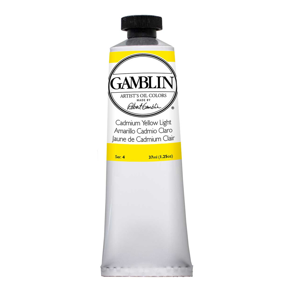 Gamblin Artist Oil 37Ml Cadmium Yellow Lt