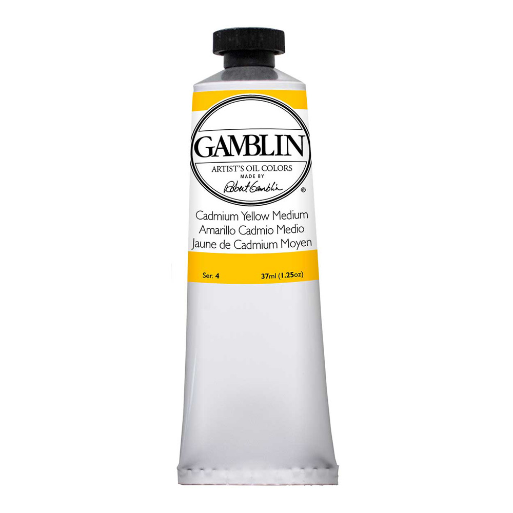 Gamblin Artist Oil 150Ml Cadmium Yellow Med