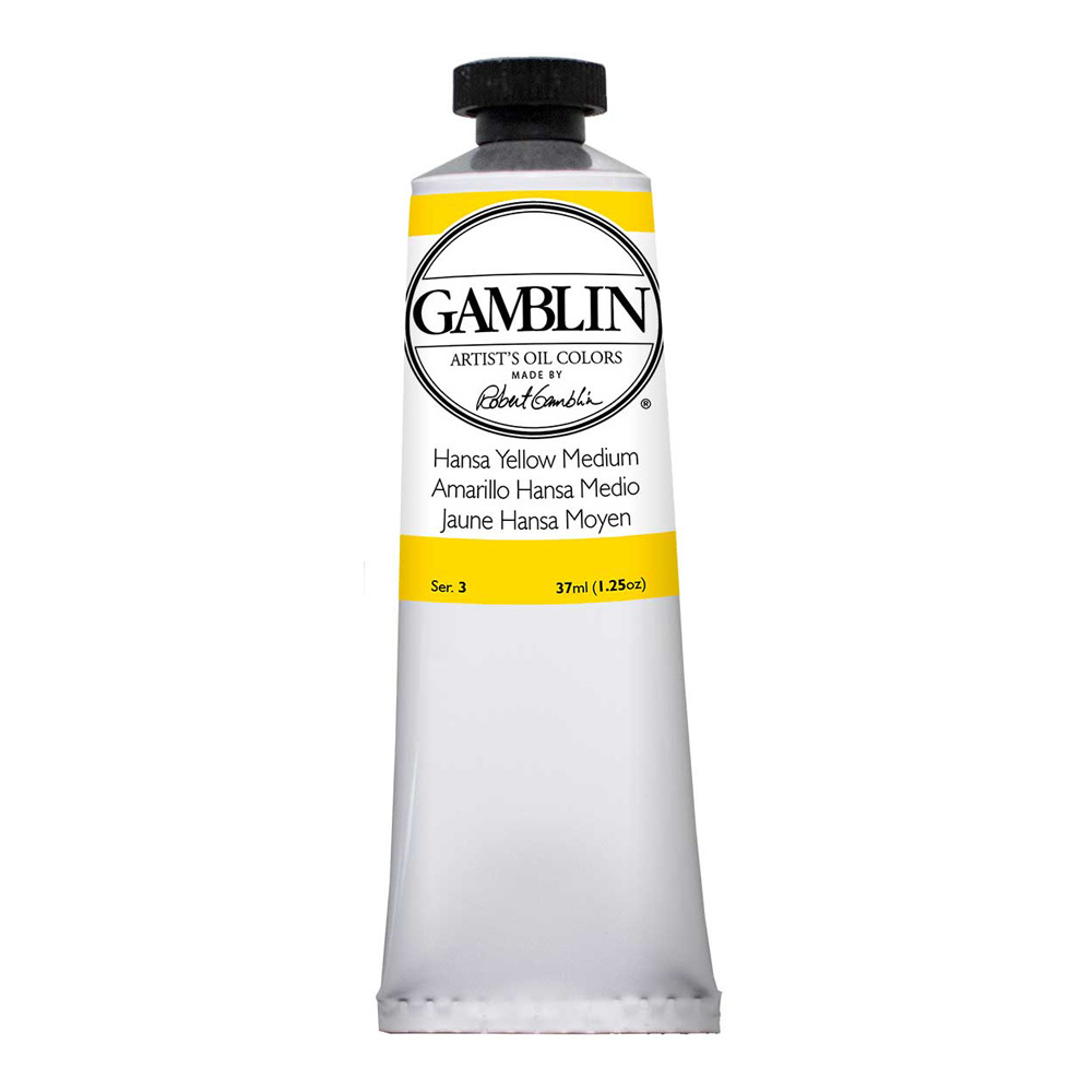 Gamblin Artist Oil 37Ml Hansa Yellow Med