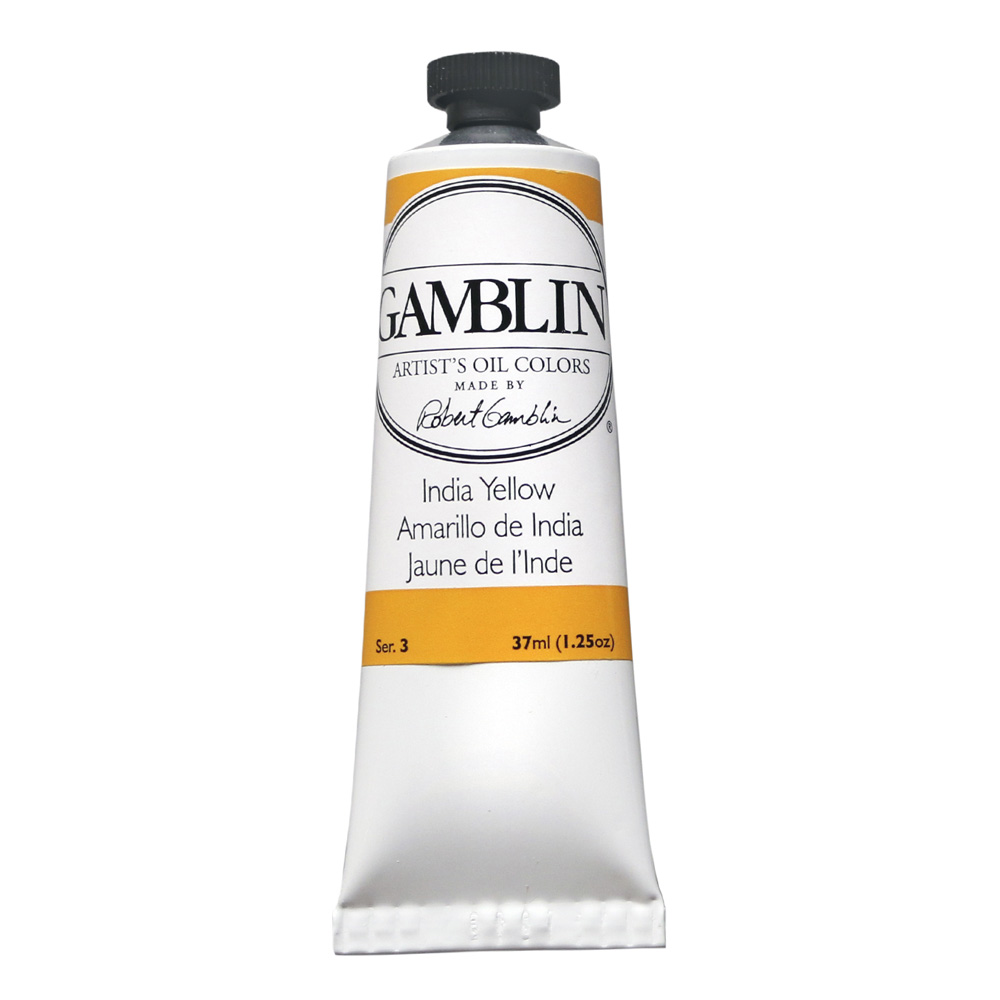 Gamblin Artist Oil 150Ml Indian Yellow