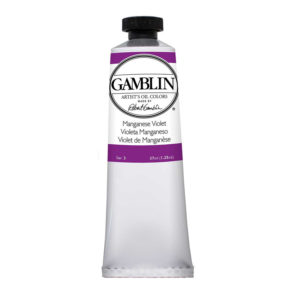 Gamblin Artist Oil 37Ml Manganese Violet