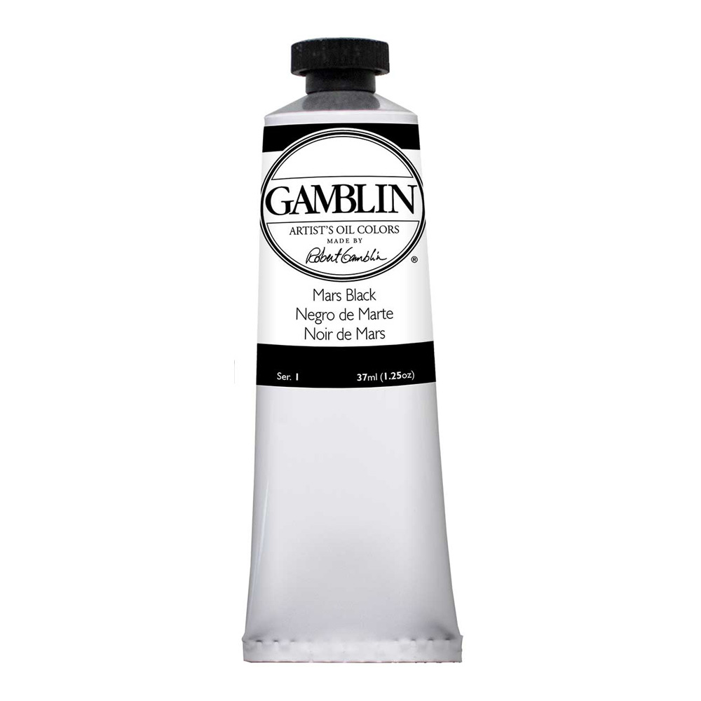 Gamblin Dry Pigment 4 Oz Mars Black