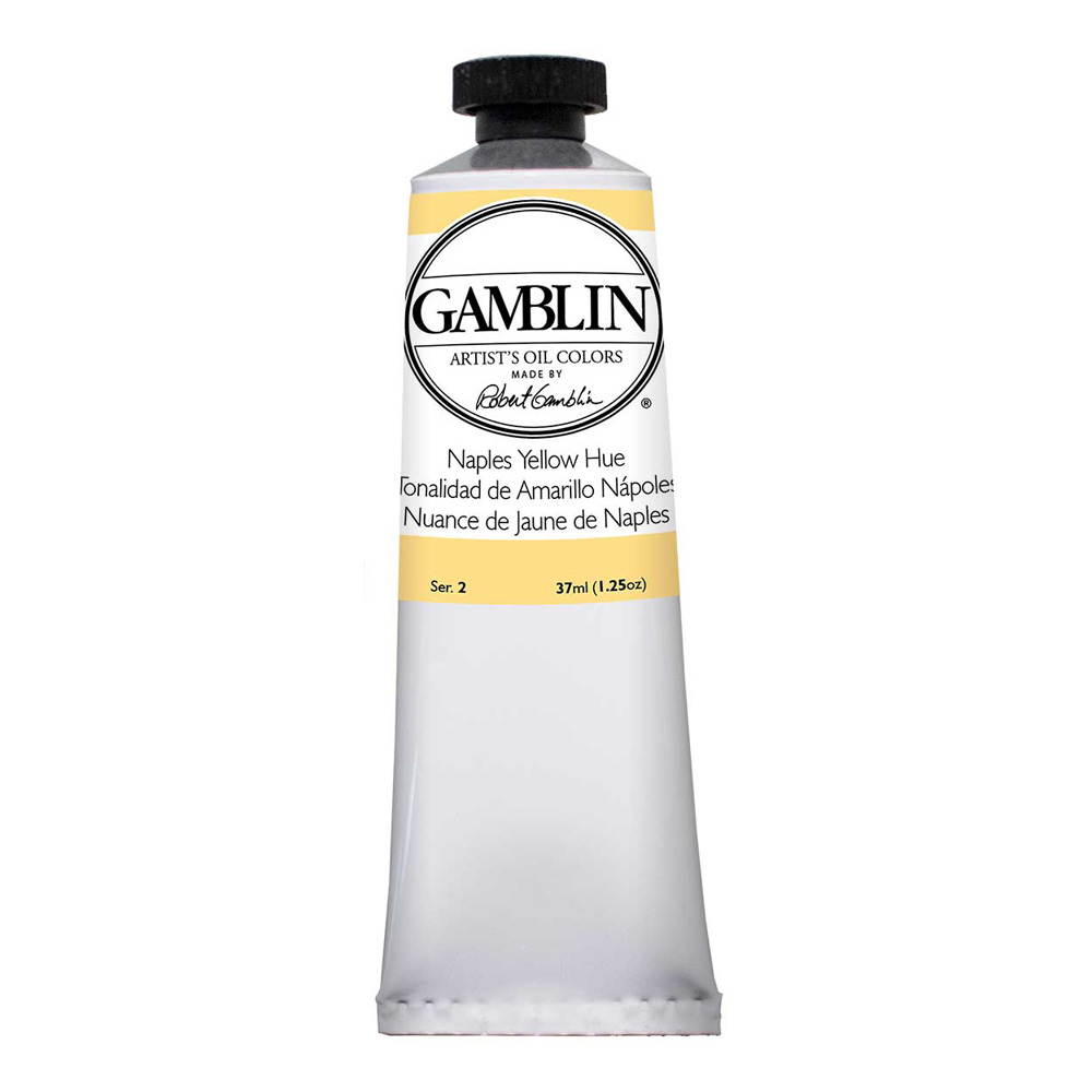 Gamblin Artist Oil 37Ml Naples Yellow