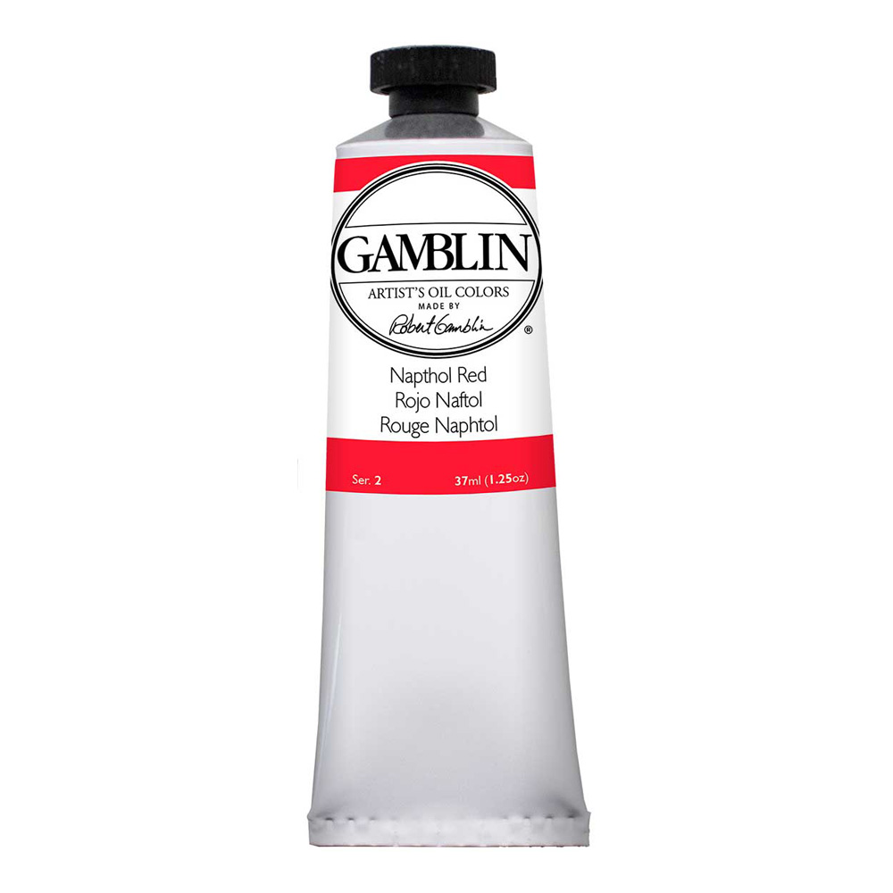 Gamblin Artist Oil 37Ml Napthol Red