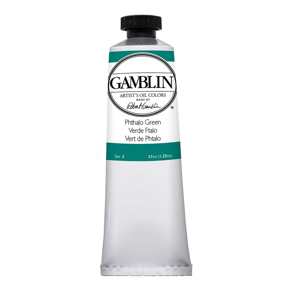 Gamblin Artist Oil 37Ml Phthalo Green