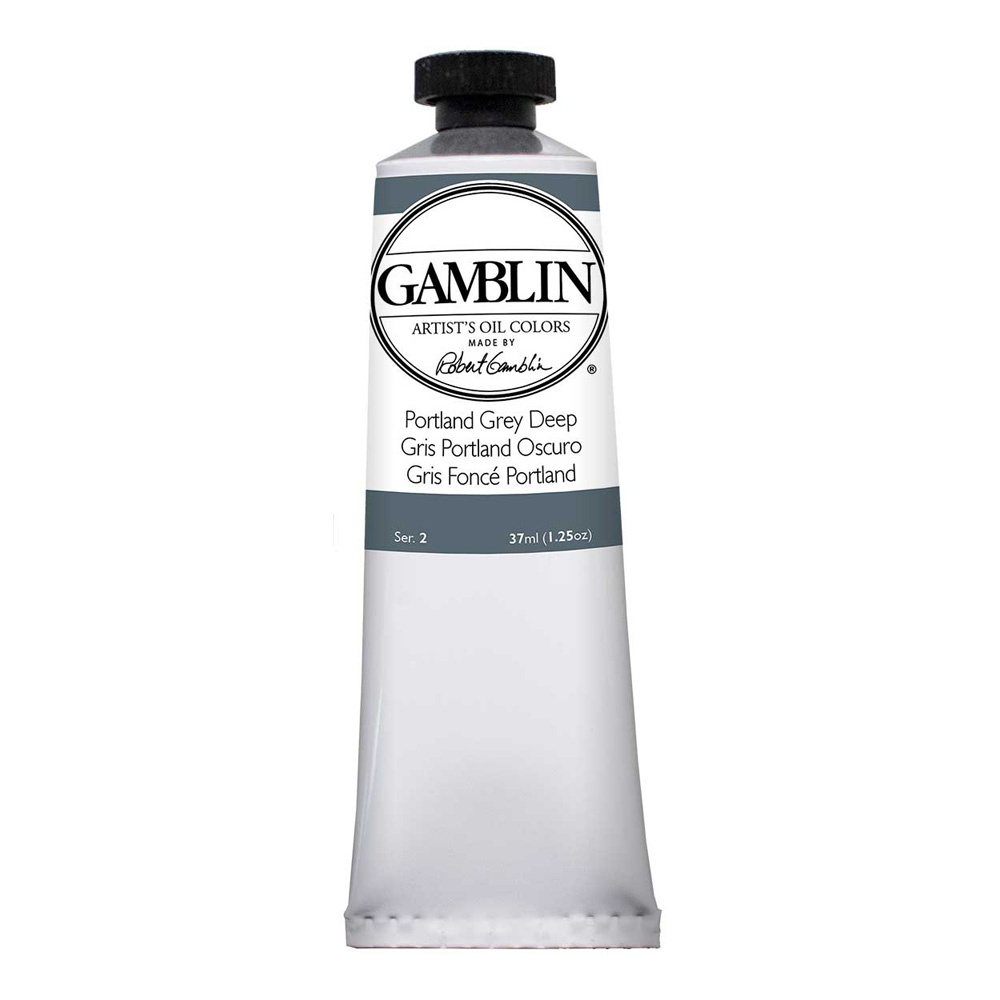 Gamblin Artist Oil 37Ml Portland Grey Dp