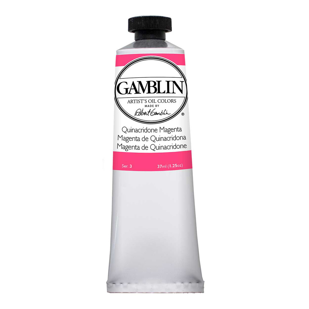 Gamblin Artist Oil 37Ml Quin Magenta