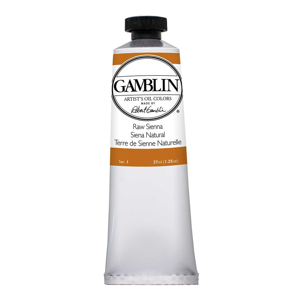 Gamblin Artist Oil 150Ml Raw Sienna
