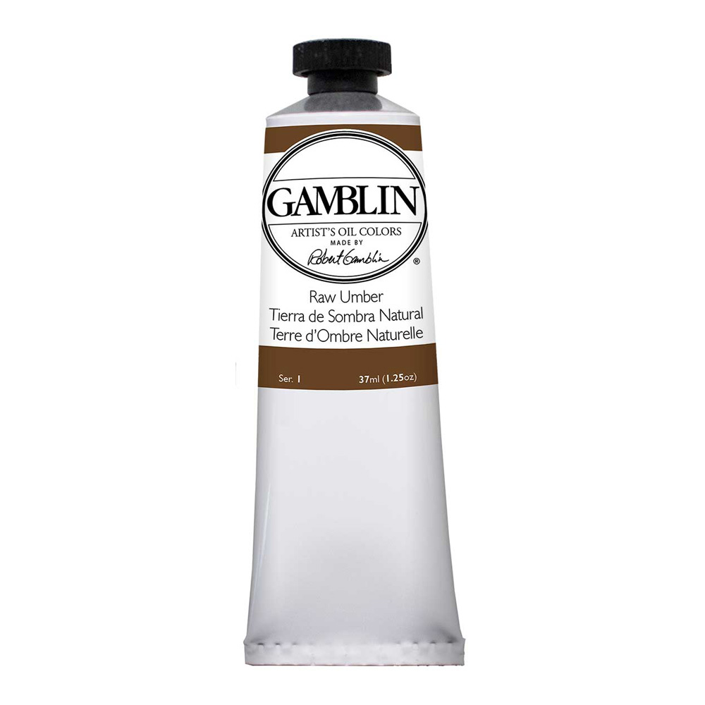 Gamblin Artist Oil 150Ml Raw Umber