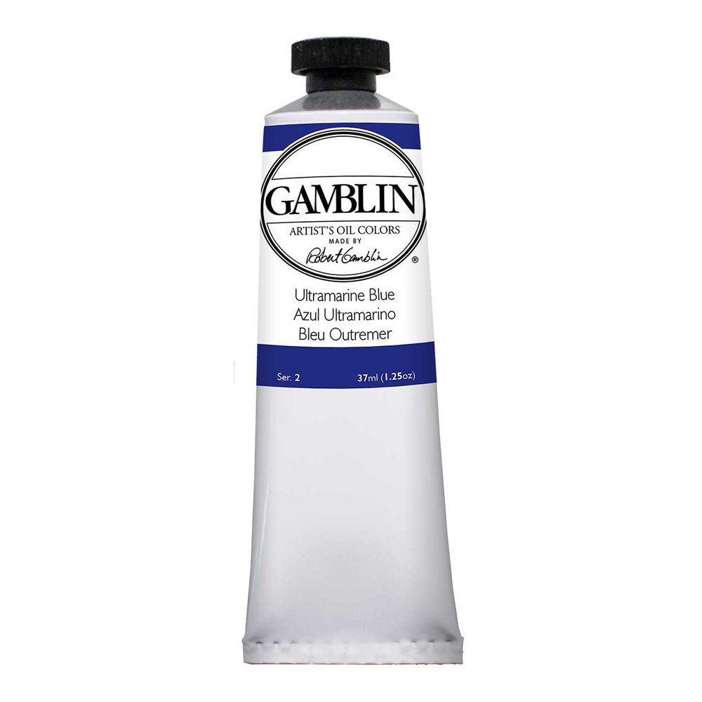 Gamblin Artist Oil 37Ml Ultramarine Blue