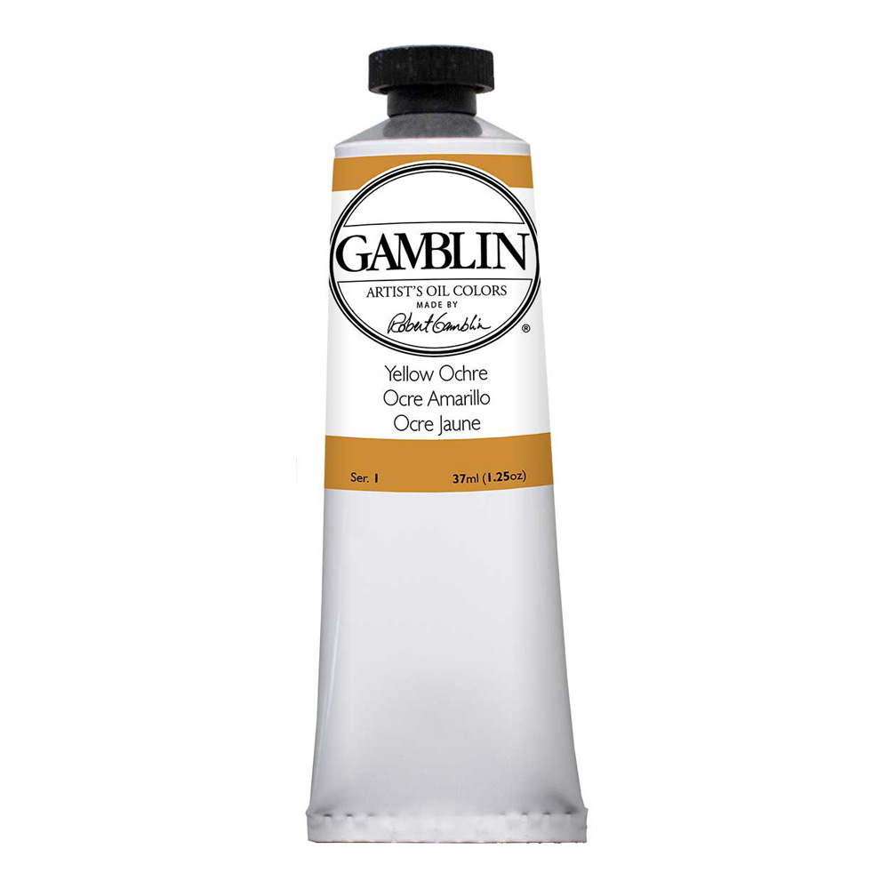 Gamblin Artist Oil 37Ml Yellow Ochre