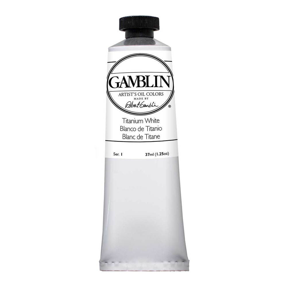 Gamblin Artist Oil 150Ml Titanium White