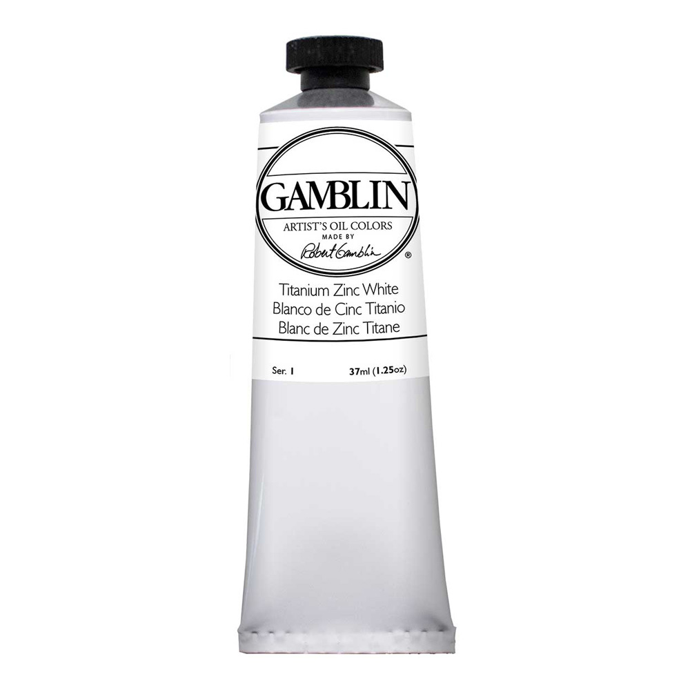 Gamblin Artist Oil 37Ml Titanium-Zinc White