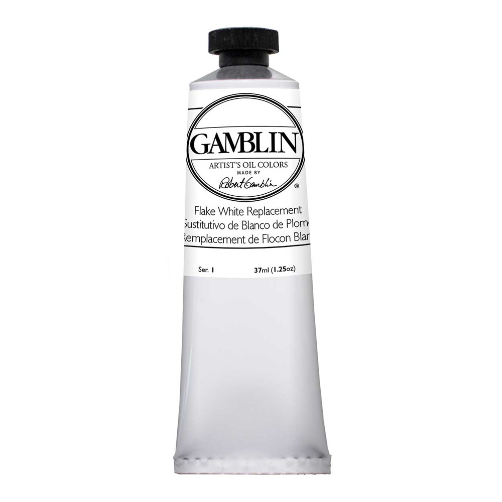 Gamblin Artist Oil 37Ml Flake White Repl