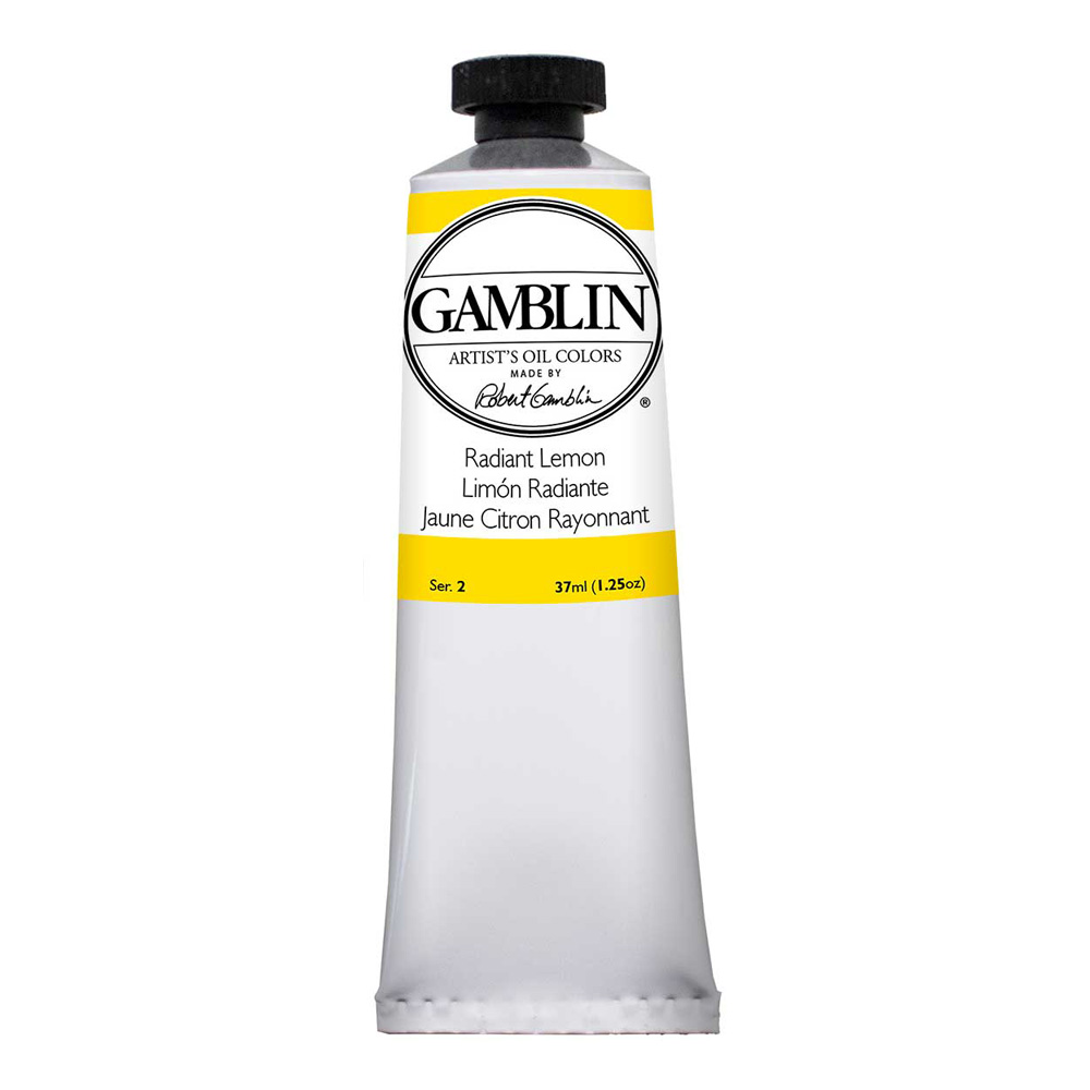 Gamblin Artist Oil 37Ml Radiant Lemon